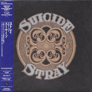 STRAY - SUICIDE (TRANSATLANTIC 1971) Jap mastering cardboard sleeve