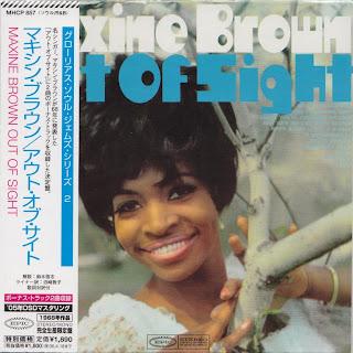 MAXINE BROWN - OUT OF SIGHT (EPIC 1968) Jap DSD mastering cardboard sleeve + 2 bonus
