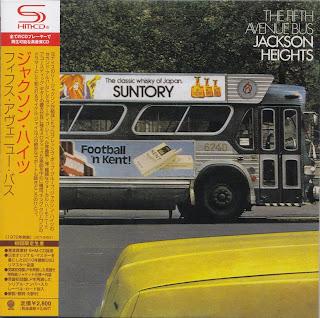 JACKSON HEIGHTS - THE 5th AVENUE BUS (VERTIGO 1972) Jap DSD mastering cardboard sleeve