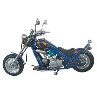 mini choppers are scaled down