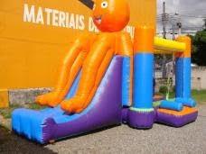 Brinquedo inflável polvo maluco
