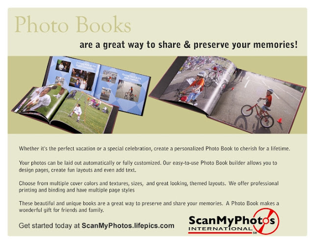 a5 - After Your Photos Are Scanned, Easily Order Custom Photo Books