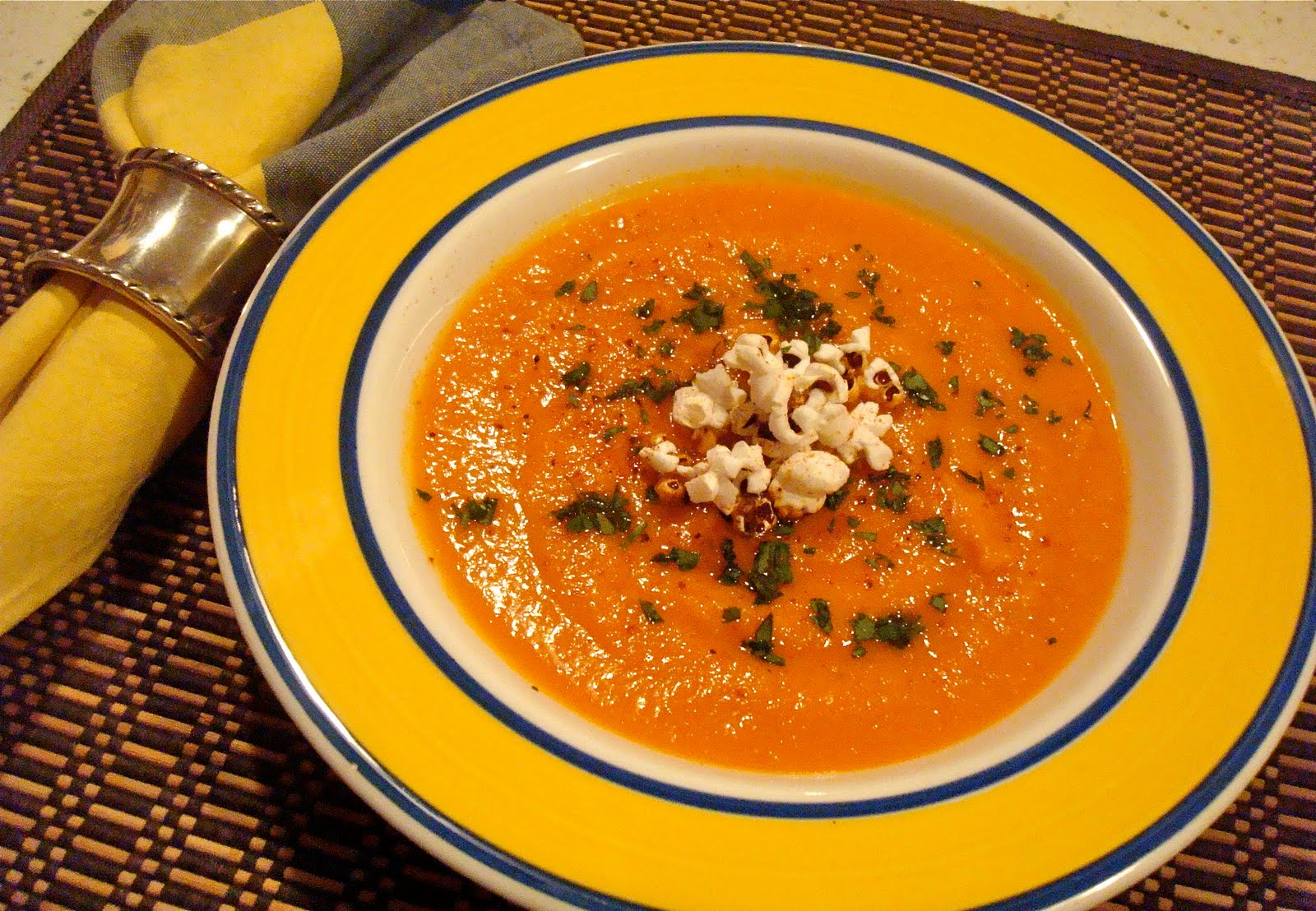 Beach Eats: Spicy Sweet Potato and Tomato Soup from The South Beach ...