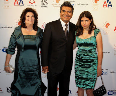 GLAM CHOWDER: George Lopez and wife split