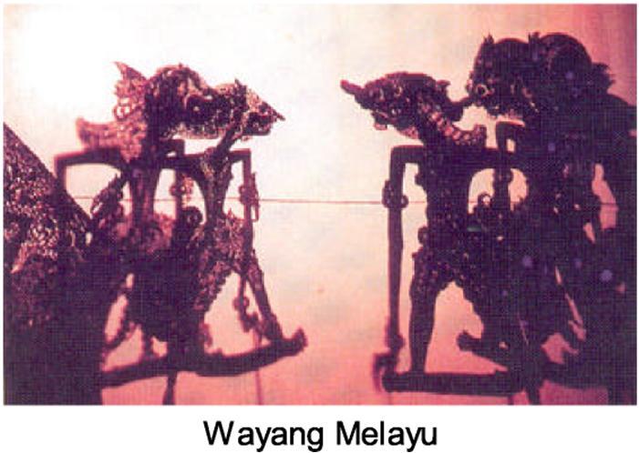 Gambar 4 : Patung Wayang Kulit Melayu