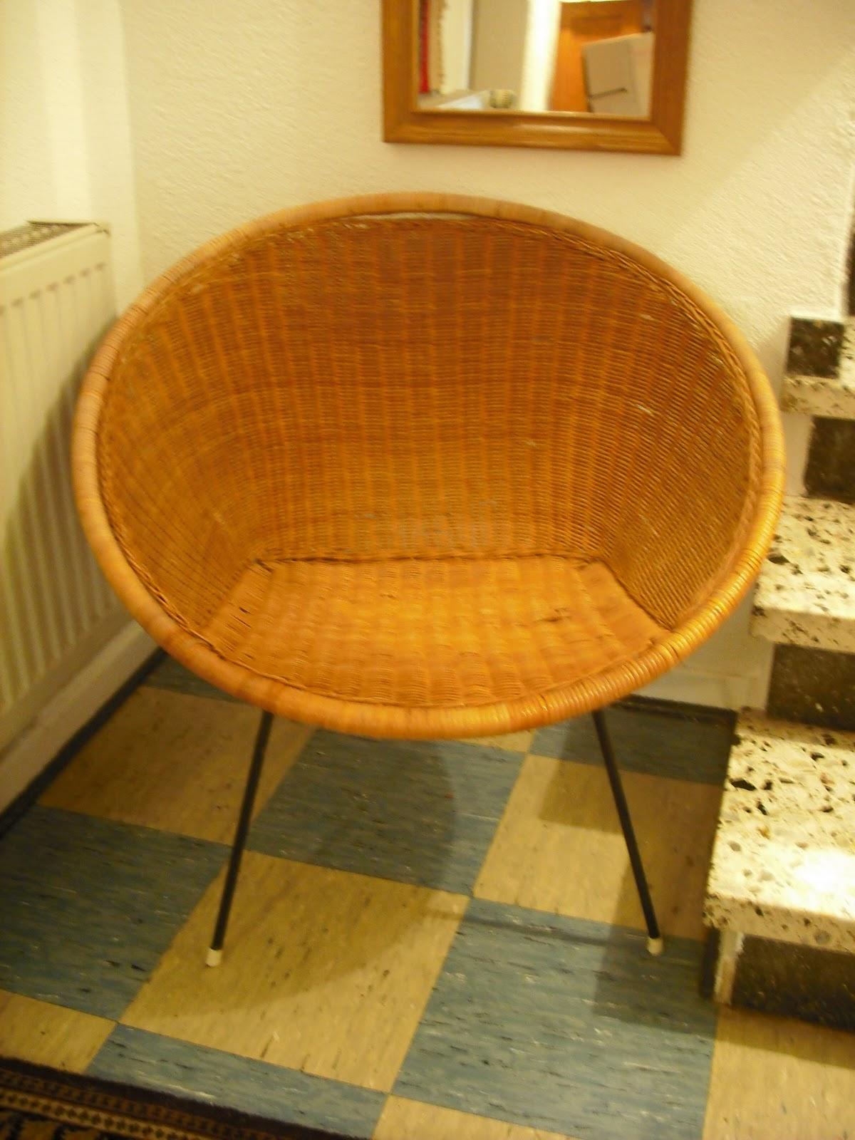 Bemerkenswert Runder Sessel Galerie Von Geflochtener Sessel, Metallgestell