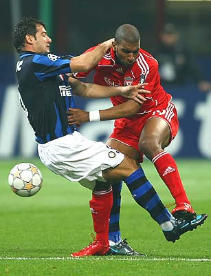 Highlights UEFA Champions League 11/03/08 INTER MILAN VS LIVERPOOL