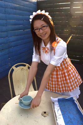 Ami Tokito : Cute Cosplay Housewife