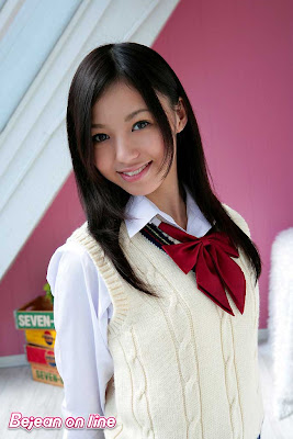 Aino Kishi : Asian School Girl Uniform