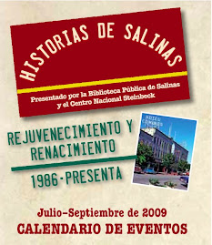 Historias de Salinas Calendario