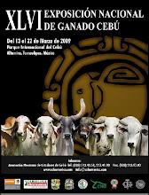 XLVI EXPOSICIÓN NACIONAL DE GANADO CEBÚ