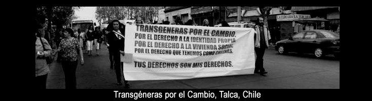 Transgéneras por el Cambio, Talca, Chile.