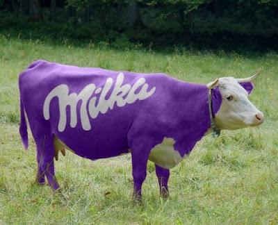 Les douilles Milka-Cow