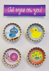 New Bottle Cap Designs-All Eyes on You