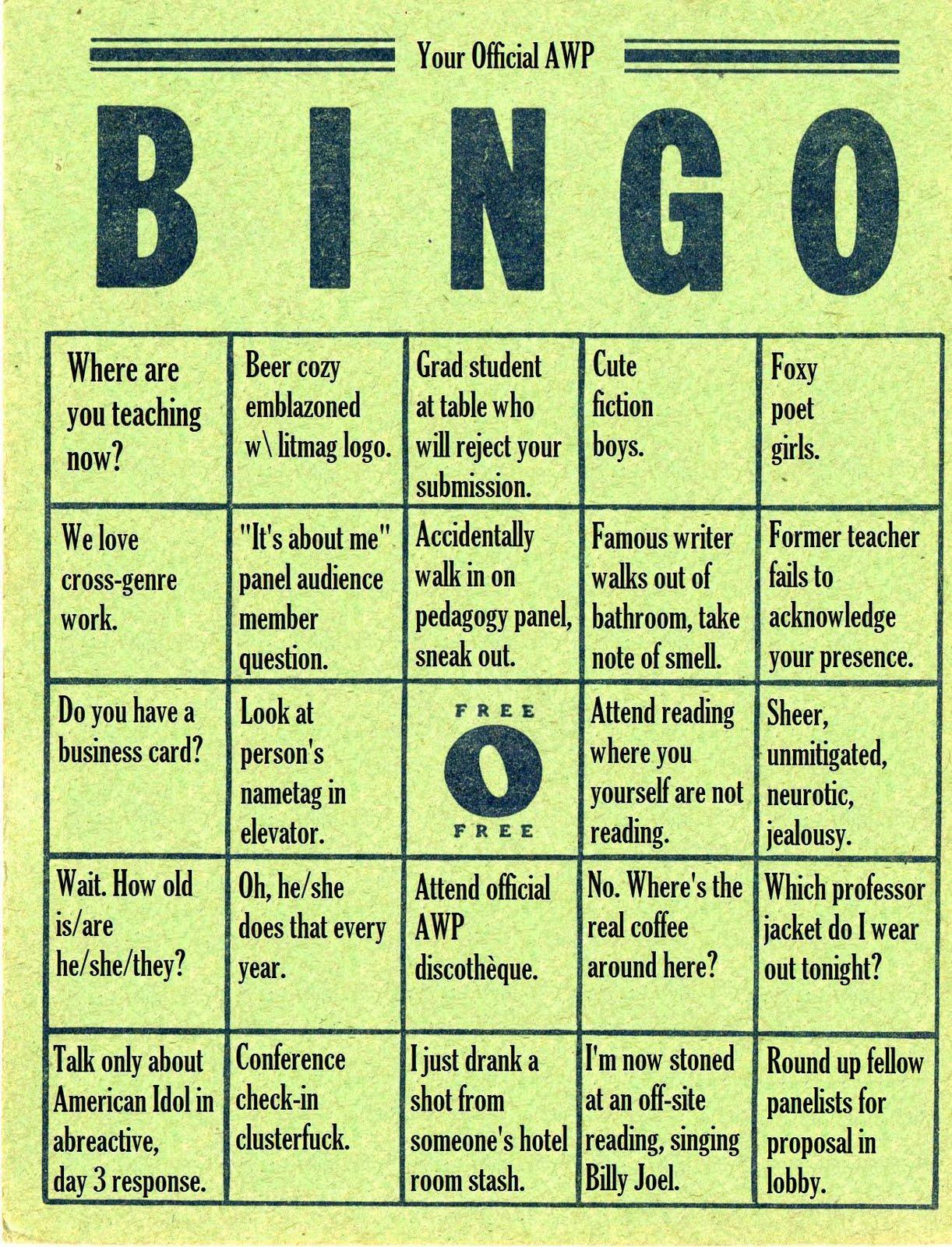 being bingo