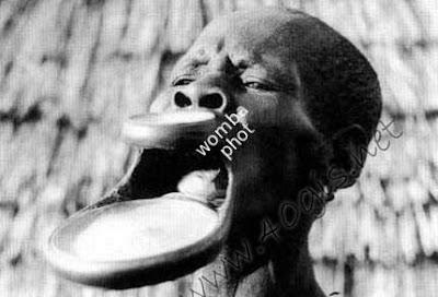 http://www.irandid.ir عکسهایی عجیب از قبیله ای در افریقا