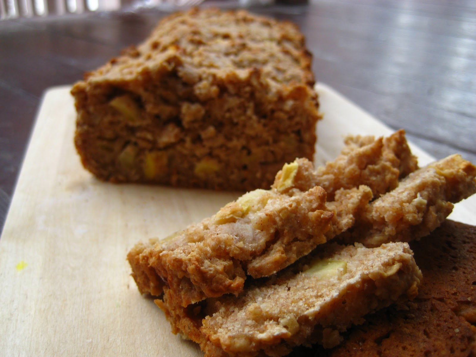 Coconut Crumbs: Apple Oatmeal Quick Bread