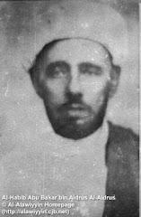 AL-HABIB ABU BAKAR BIN AIDRUS AL-IDRUS