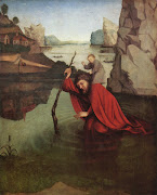 KONRAD WITZ. St. Christopher. c. 1435.