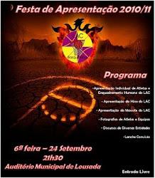 FESTA DE APRESENTAÇÃO 2010/2011