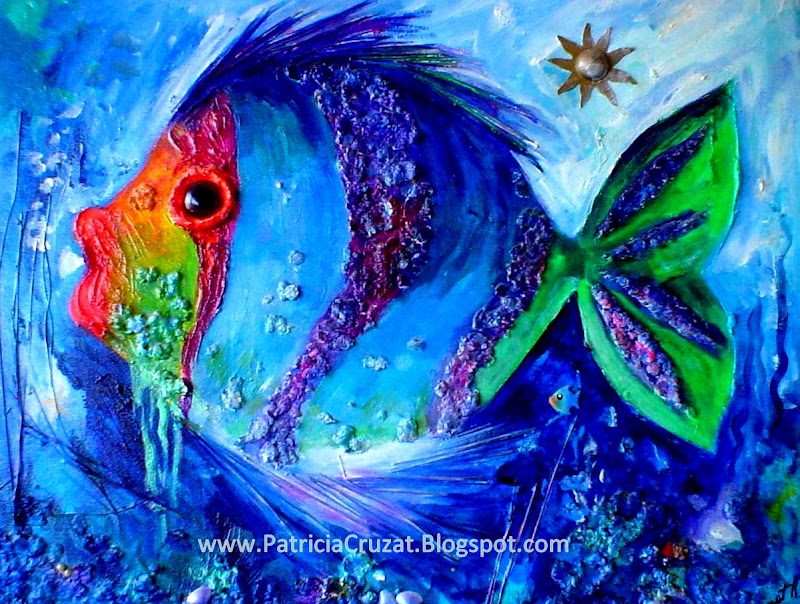 Patricia cruzat rojas pez l grima for Cuadros con peces