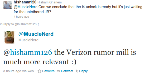 Unlock del iPhone 4 podria salir despues del lanzamiento del iPhone 4 con Verizon
