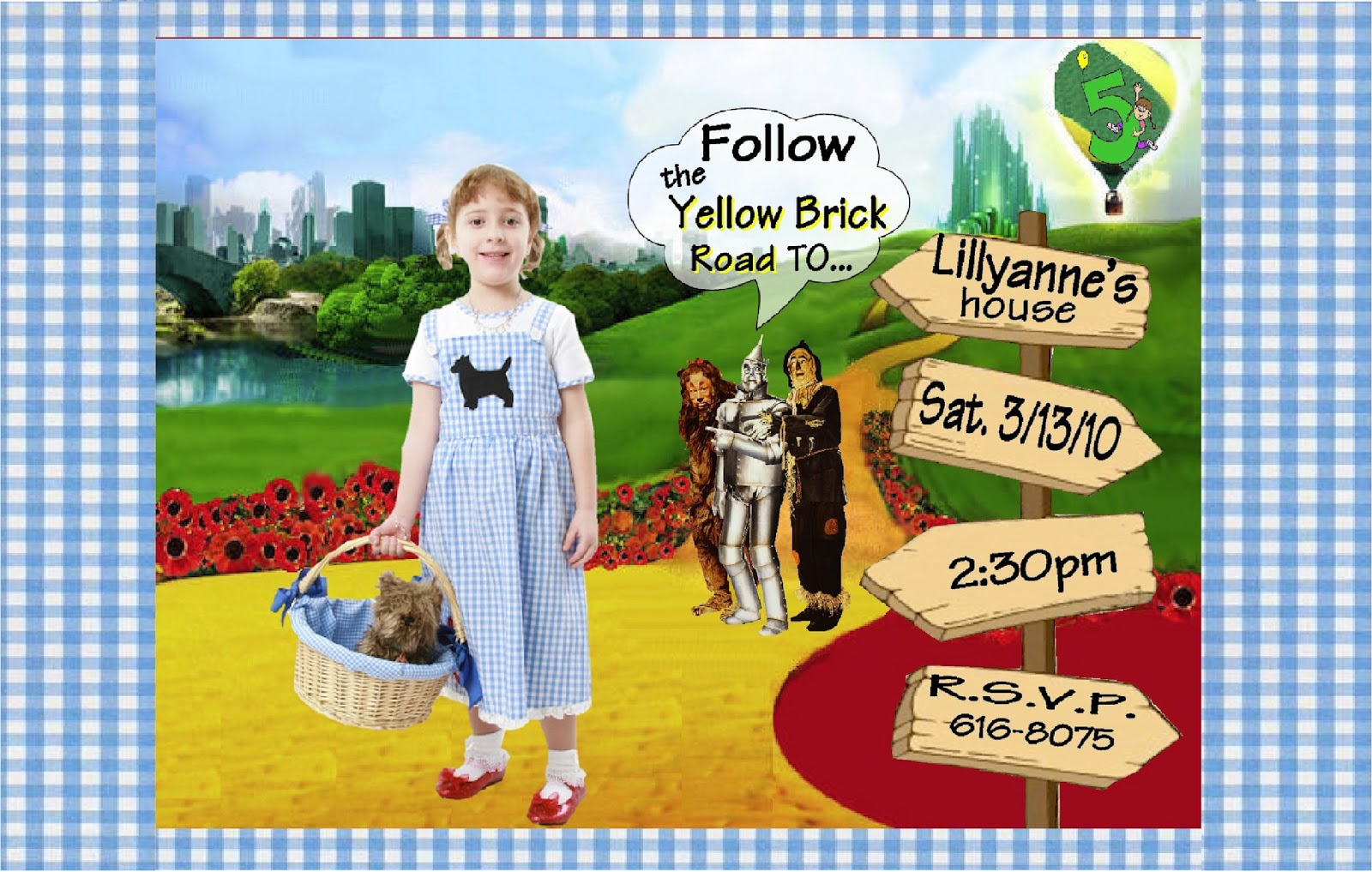 Wizard Of Oz Birthday Invitations gangcraftnet – Wizard of Oz Birthday Party Invitations