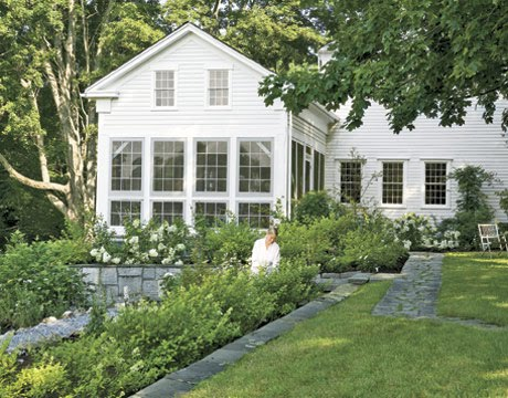 The couture contessa landscape and garden inspiration for Connecticut home builders