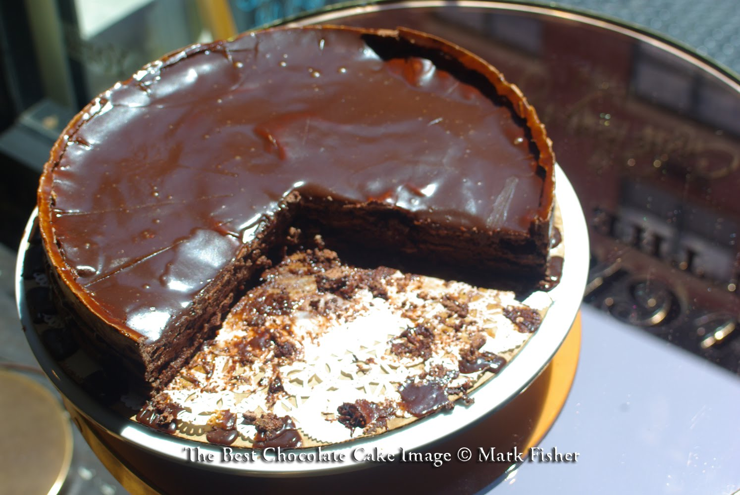 Enlightening Thunder Mark Fisher S Image The Best Chocolate Cake