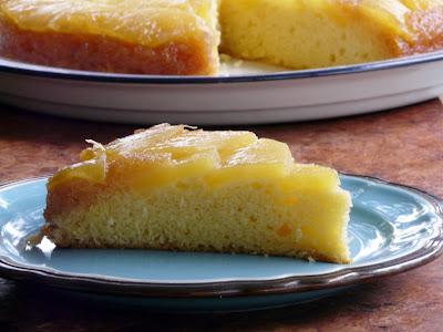 Cast Iron Skillet Pineapple Upside Down Cake With Dark Rum