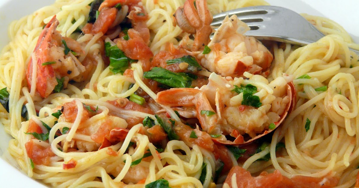 Thibeault 39 S Table Angel Hair Pasta With Lobster