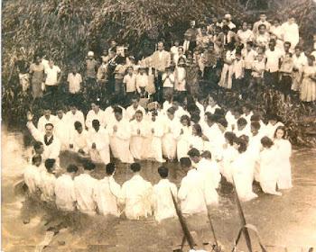 Primeiro batismo da Obra (Rio Guapimirim)