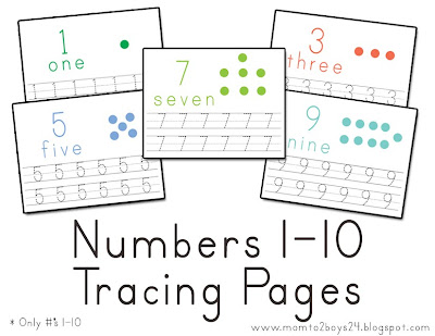 Tracing Numbers 1 10. Tracing Numbers 1 10 Count The Dots This ...