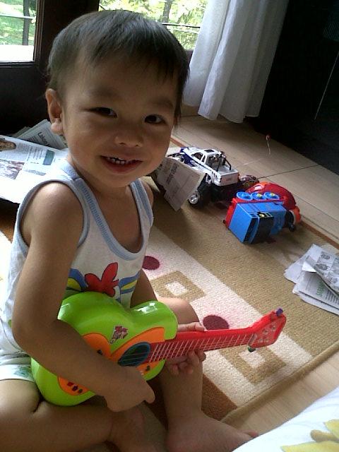 gitar mainan