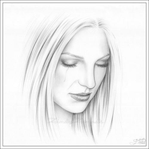 Dibujos de mujeres a lápiz en imágenes - Imagui