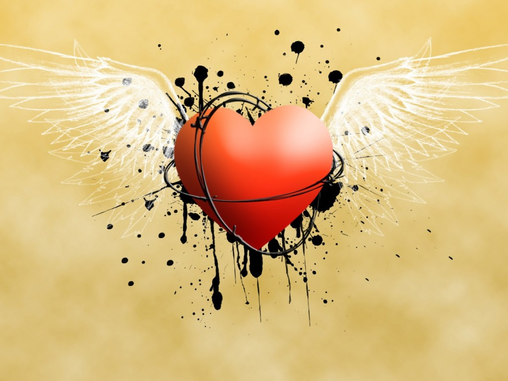 Wallpapers HD 3D Corazones