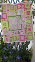 """Isn't she lovely"" baby quilt"
