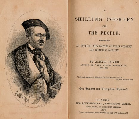 Alexis soyer the first celebrity chefs
