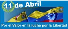 """Premio """"11 DE A BRIL"""", concedido por  Movimento Ordem Vigilia Contra a Corrupcao y  Alexis Marrero"""