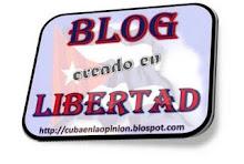 Premio "Blog creado en Libertad"