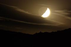 Luna en las sierras
