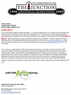 Call to Artists: The West Toronto Junction Arts Festival Centennial Edition 2008