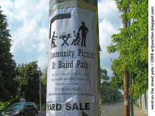 Community Picnic at Baird Park, Keele Street, Toronto