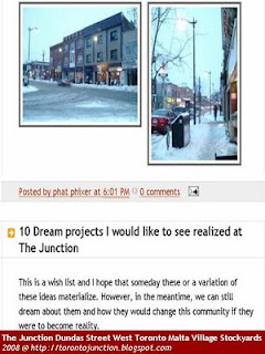 Screeshot: 10 Dream projects I would like to see realized at The Junction, by torontojunction
