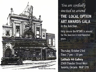 West Toronto Junction Local Option Art Awards Gala 2008 Invitation