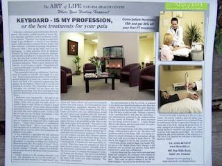 The Art of Life Best Treatment For Pain, Radial Shock Waves Therapy, Toronto