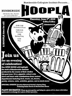 Poster: Humberside HOOPLA, Thursday June 3, 2010