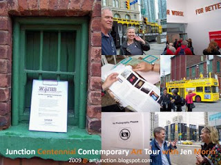 Collage: Explore the Art of the City of Toronto: Junction Centennial Contemporary Art Tour with Jen Morin