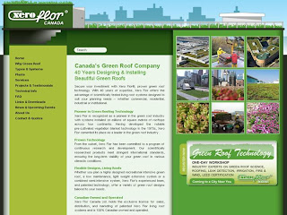 Screenshot: Xero Flor Canada's Green Roof Company