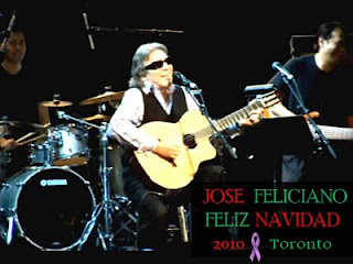 Feliz Navidad - 40th Anniversary: Jose Feliciano in Toronto for Epilepsy Cure Initiative Benefit Concert, November 27, 2010, by Olga Goubar